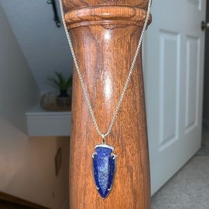 Kendra Scott blue necklace- beautiful stone